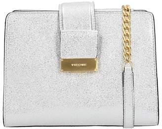 Visone Margot Bag Silver Glitter Leather