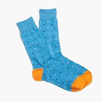 J.Crew Medium-dot cotton socks