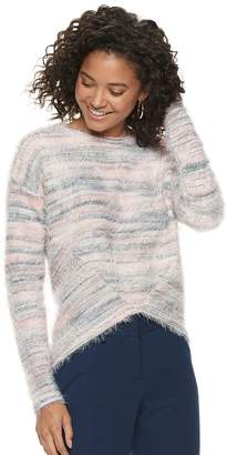 Candies Juniors' Candie's Long Sleeve Pullover Top