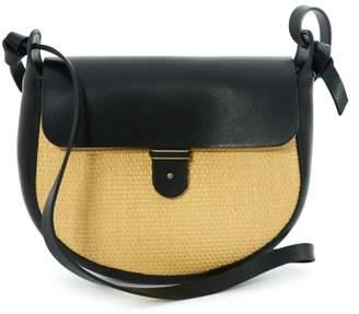 Sessun Sale - Loviu Rafia Rounded Leather Bag