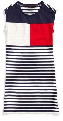 Tommy Hilfiger Colorblock Flag Dress
