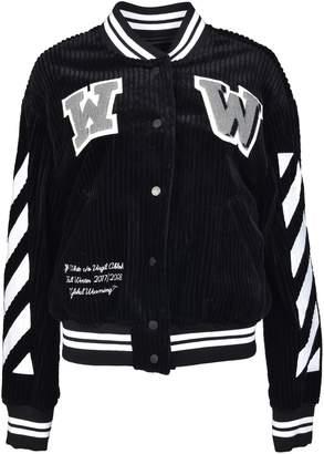 Off-White Off White Varsity Bomber Jacket