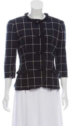 Libertine Embellished Collarless Jacket Black Libertine Embellished Collarless Jacket