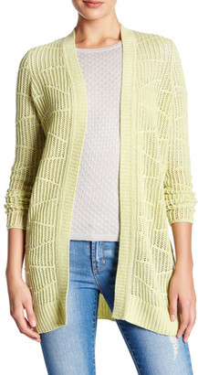 Kinross Cashmere Pointelle Duster Cardigan $159.97 thestylecure.com