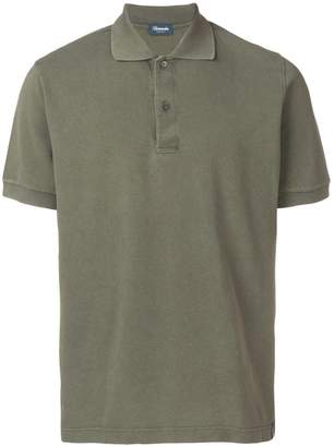 Drumohr short-sleeved polo shirt