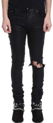 Amiri Broken Black Denim Jeans
