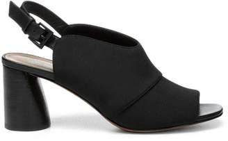 Donald J Pliner HEMI, Crepe Elastic Slingback Heeled Sandal