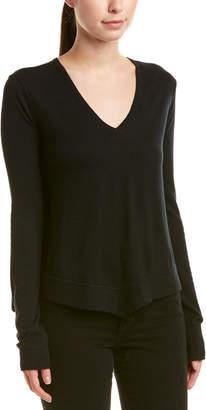 Derek Lam 10 Crosby Asymmetrical Wool, Silk, & Cashmere-Blend Sweater