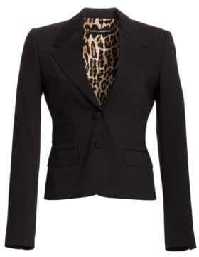 Dolce & Gabbana Martini Stretch Blazer