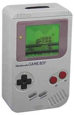 Nintendo Paladone Products Ltd. Gameboy Tin Money Box