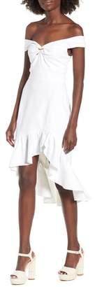 WAYF Genoa Off the Shoulder Dress