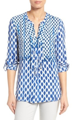Women's Nic+Zoe Falling Dots Top $158 thestylecure.com