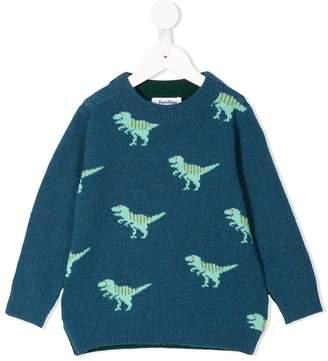 Familiar dinosaur knit sweater
