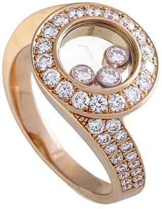 Chopard 18K Rose Gold 1.04 Ct. Tw. Diamond Ring