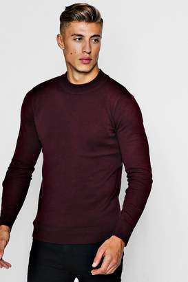 boohoo Fine Knit Turtle Neck Jumper