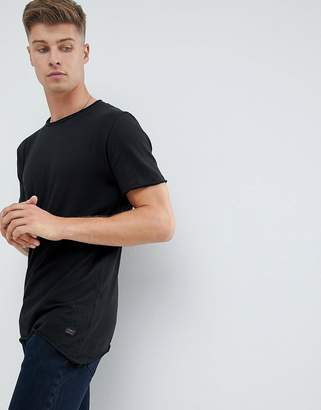 Produkt Longline T-Shirt With Raw ASYMMETRIC Hem