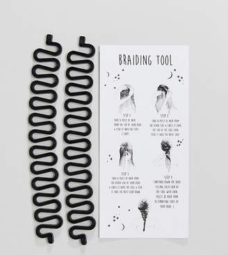 Asos DESIGN Pack of 2 Festival Braid Hair Tools