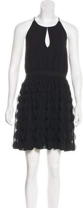 Diane von Furstenberg Gia Ruffled Dress