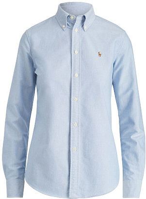 Polo Ralph Lauren Custom Fit Cotton Oxford Shirt $89.50 thestylecure.com