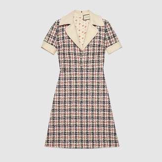 Gucci Tweed check dress