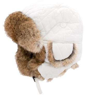 Surell Fur-Trimmed Trapper Hat