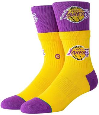 Stance Lakers Double Double Socks