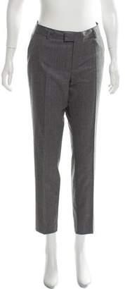 MAISON KITSUNÉ Wool Mid-Rise Pants