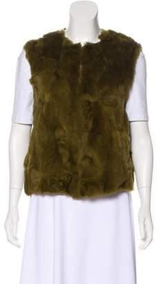 See by Chloe Rabbit Fur Vest