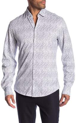 Stone Rose Techno Dot Long Sleeve Shirt