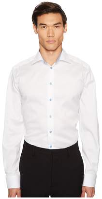 Eton Contemporary Fit Cuff Detail Shirt Men's Clothing