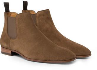 HUGO BOSS Safari Suede Chelsea Boots