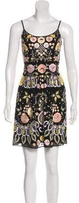 Needle & Thread Embellished Sleeveless Mini Dress