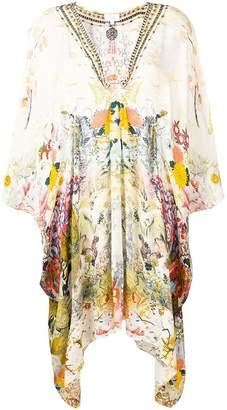Camilla printed longline tunic