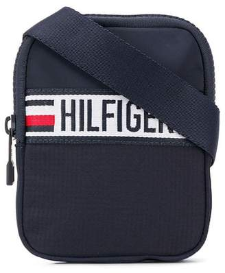 Tommy Hilfiger logo stripe crossbody bag