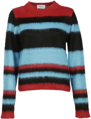 Dondup Striped Furry Jumper