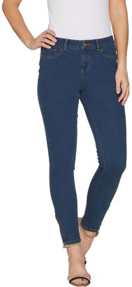 G.I.L.I. Got It Love It G.I.L.I. Petite Ankle Zip Jeans