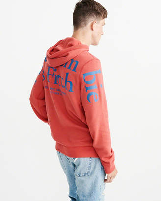 Abercrombie & Fitch Back Logo Hoodie