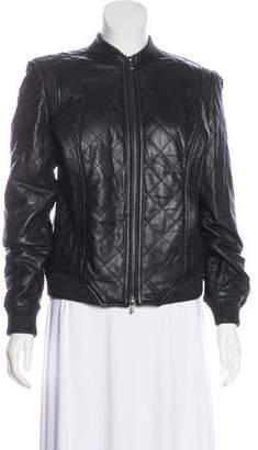 Truth and Pride Quilted Leather Jacket w/ Tags