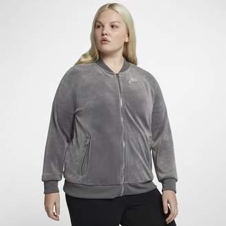 Nike Sportswear (Plus Size) Women's Velour Jacket