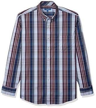 Cole Haan Men's Performance Stretch Long Sleeve Buttondown Shirt