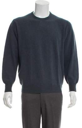 Malo Wool Crew Neck Sweater blue Wool Crew Neck Sweater
