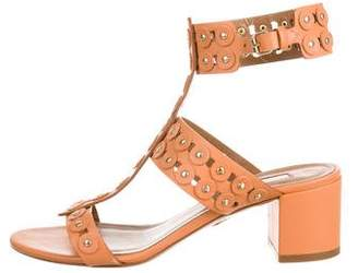 Aquazzura Rebel Ankle Strap Sandals