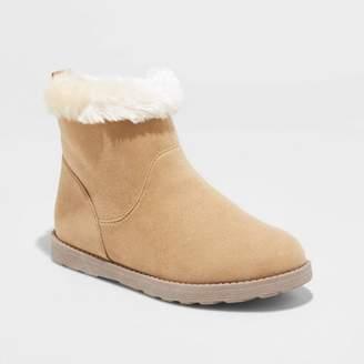 Cat & Jack Girls' Haiden Fashion Boots - Cat & JackTM Tan