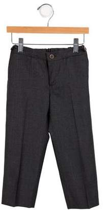 Marie Chantal Boys' Wool Straight-Leg Pants
