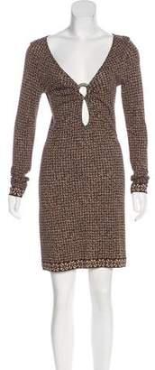 Michael Kors Knit Cutout Dress
