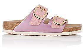 Birkenstock Women's Arizona Big Buckle Leather Sandals - Pink