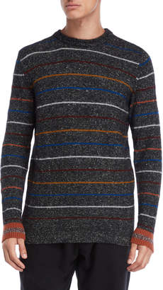 Roberto Collina Charcoal Stripe Sweater