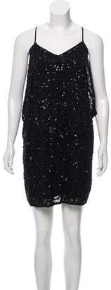 AllSaints Sequin Mini Dress