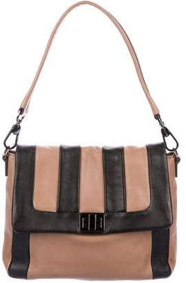 Anya Hindmarch Bicolor Leather Satchel