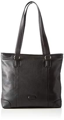 Bodenschatz Women's Shoulder Bag Black Schwarz (black 01)